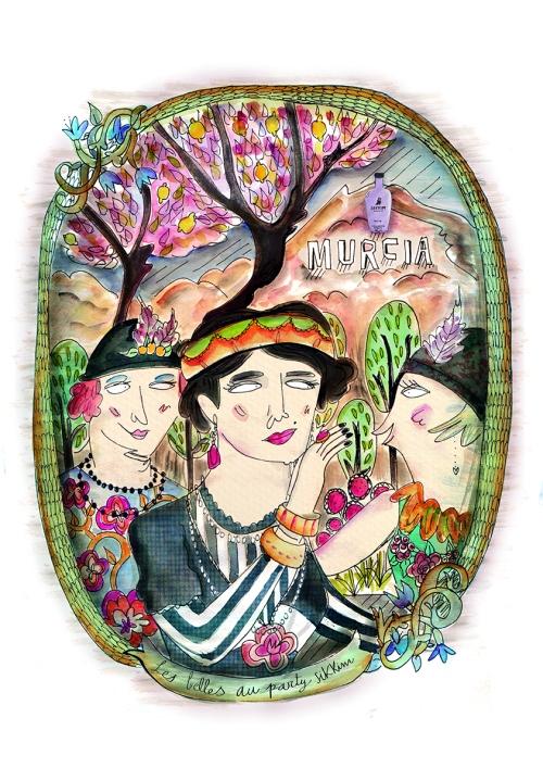 Ilustración Les Belles