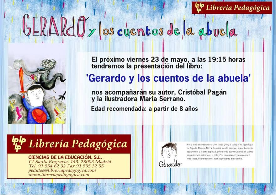 presentación Librería Pedagógica